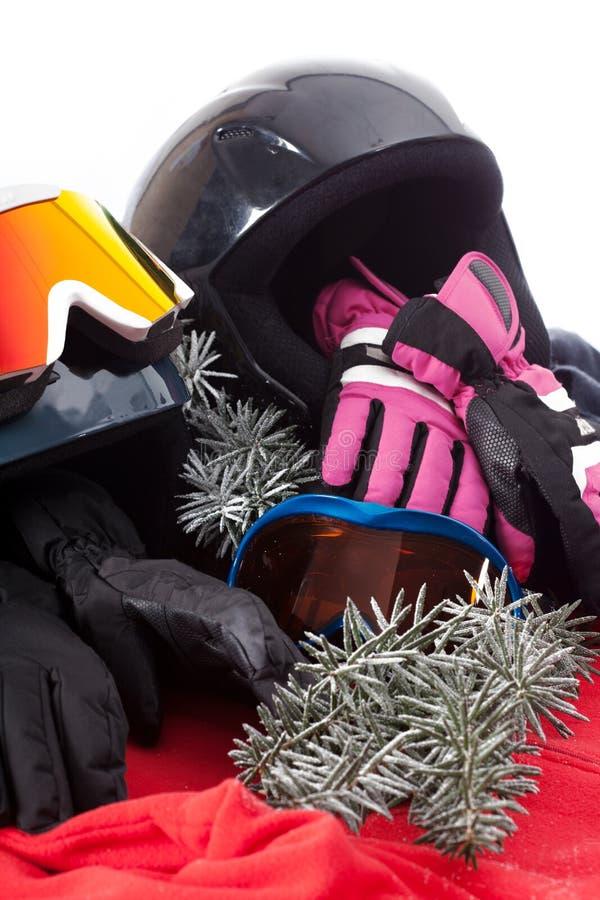 Шляпа, перчатки и изумлённые взгляды стоковое изображение
