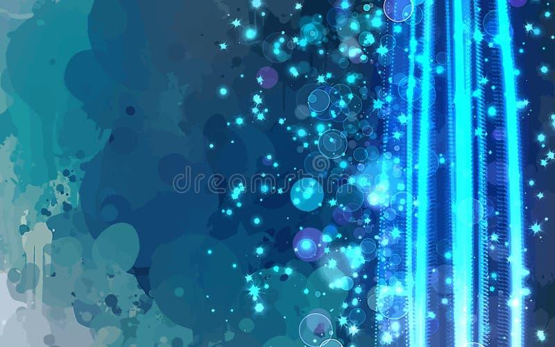 Щетка световых лучей штрихует предпосылку бесплатная иллюстрация