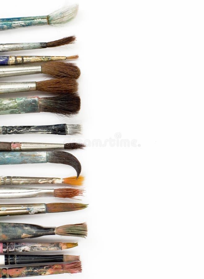 Щетки стоковое изображение