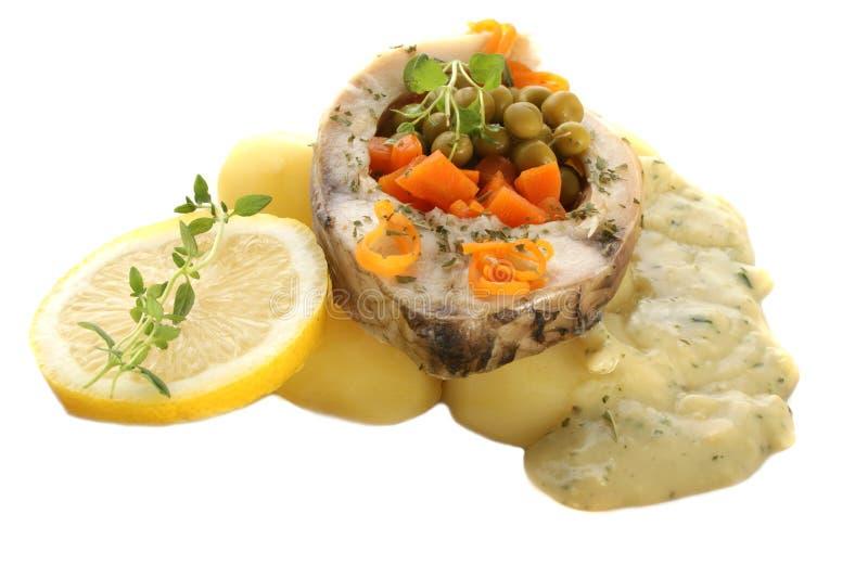 ые картошки выкружки вырезуба стоковое фото