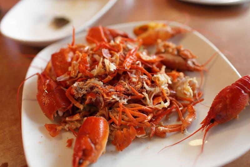 ые crayfishs стоковое фото