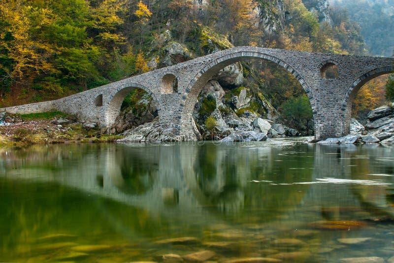 дьявол s моста стоковая фотография rf