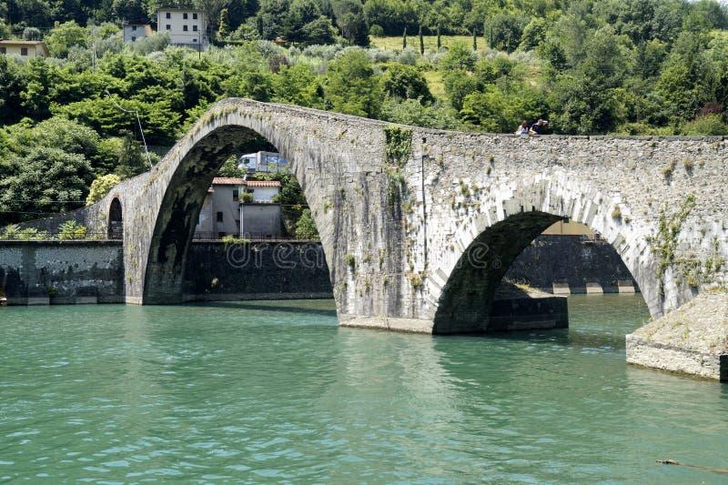дьявол s моста стоковое фото