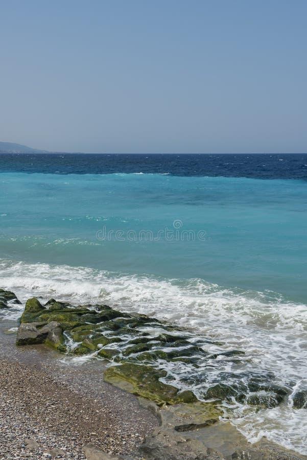 Эгейская синь стоковое фото rf