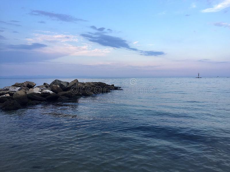 Эгейское море стоковое фото