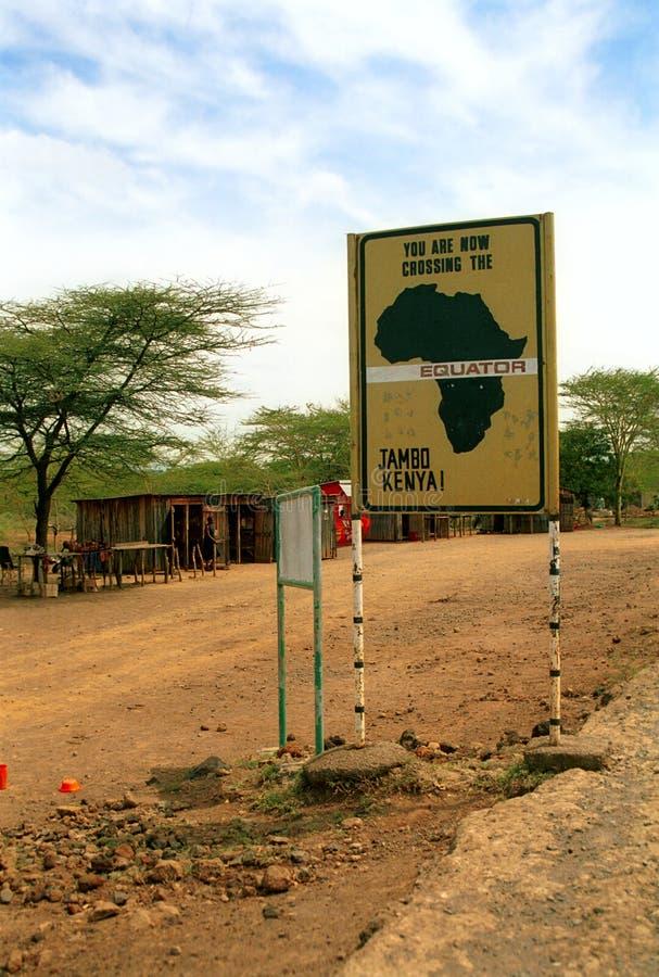 Экватор, Nanyuki, Кения стоковое изображение rf