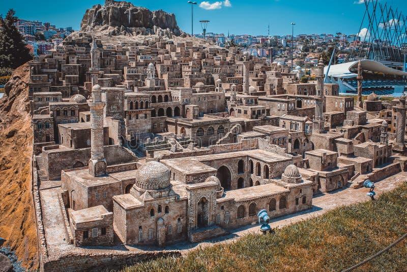 Экземпляр древнего города стоковые фотографии rf