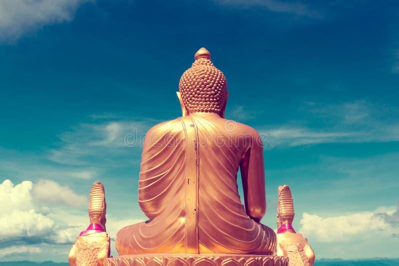 Экзотические перемещения и приключения Отключение Таиланда Будда и ориентир ориентиры стоковое изображение rf