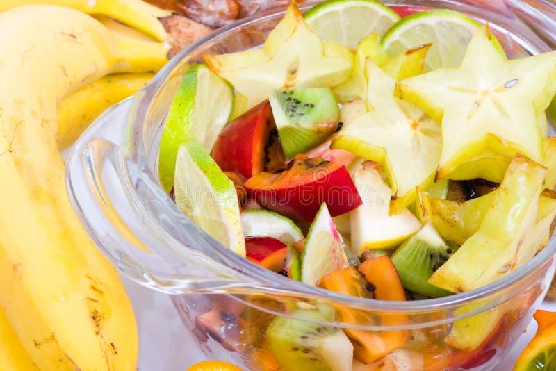 экзотический салат стоковые фотографии rf
