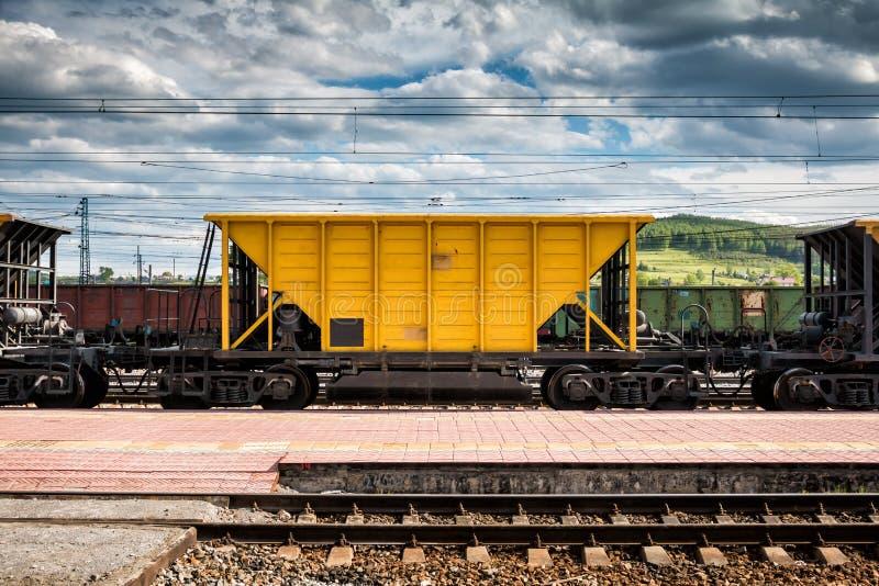 Экипажи железной дороги перевозки стоковая фотография