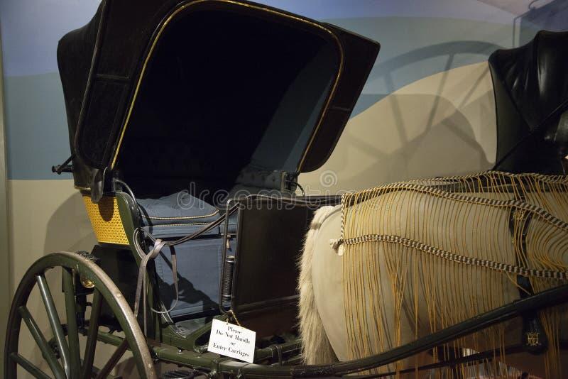 Экипажи музея наследия Penrose стоковое изображение