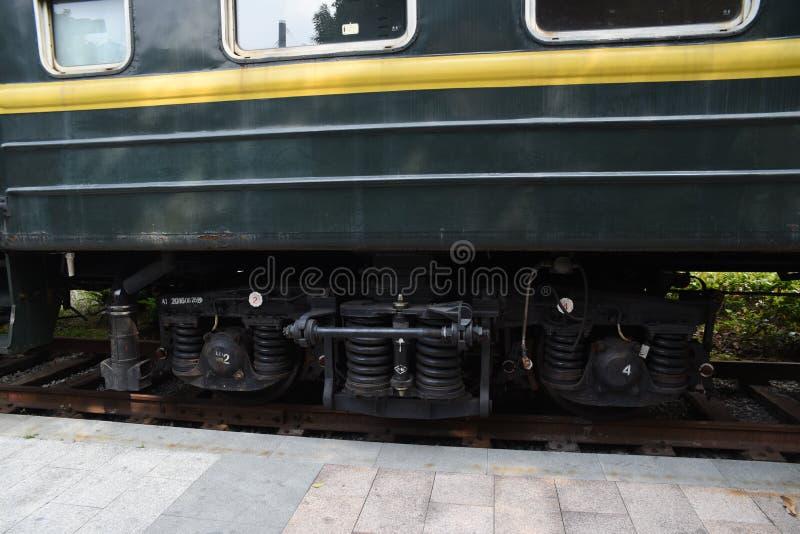 экипажи поезда Китайск-стиля стоковая фотография rf