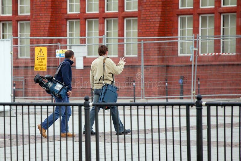 экипаж камеры стоковое изображение rf
