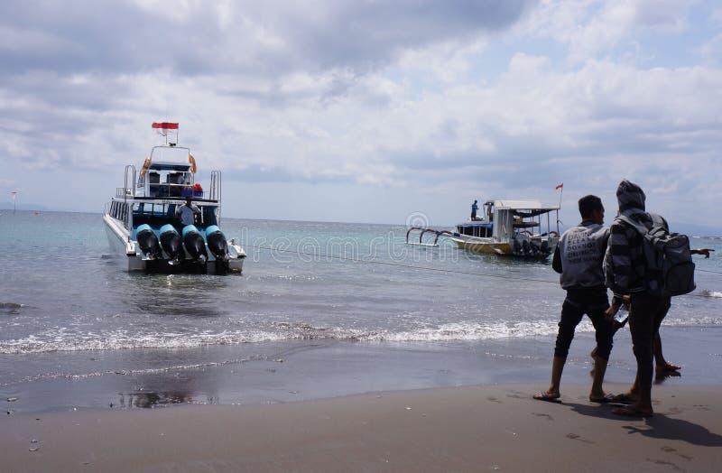 Экипаж кораблей стоковое изображение rf