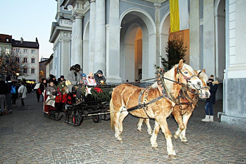 Экипаж Brixen стоковая фотография