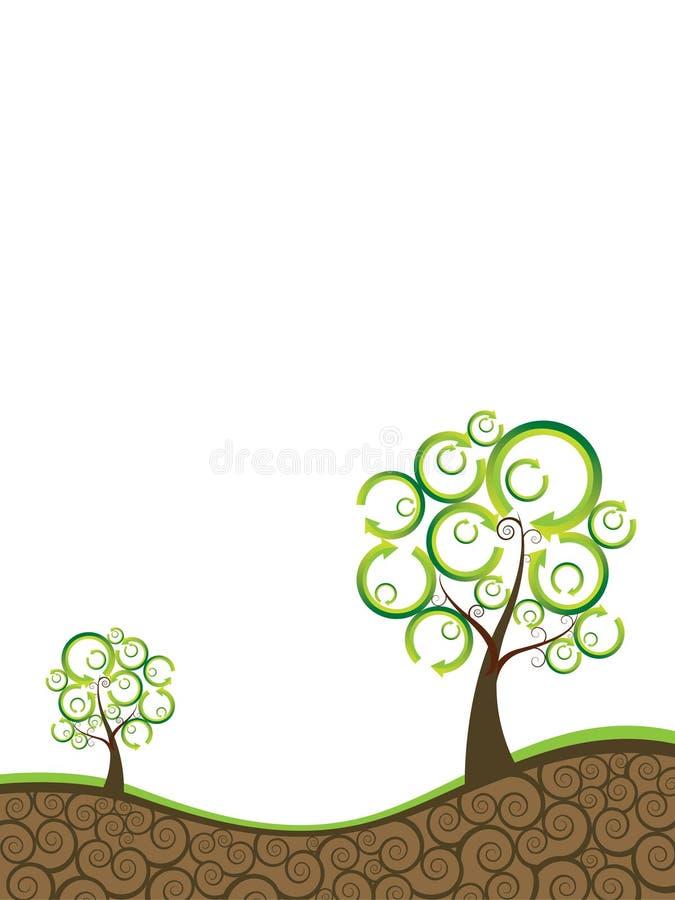 экологичность предпосылки иллюстрация штока