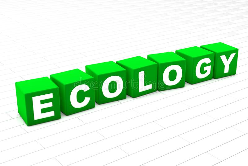 экологичность иллюстрация вектора