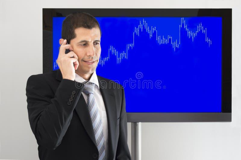 Экономист вызывая ваших клиентов стоковые фото