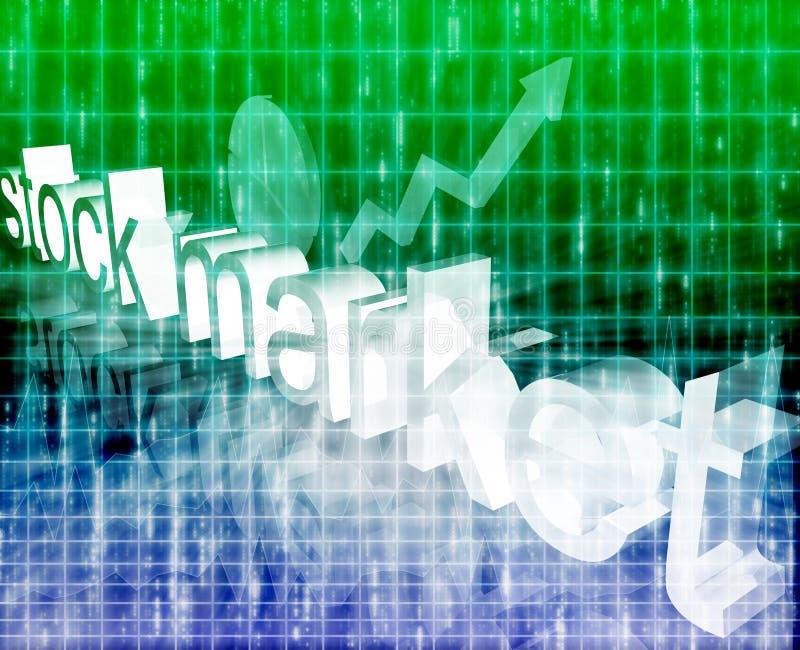 экономия улучшая шток рынка иллюстрация штока