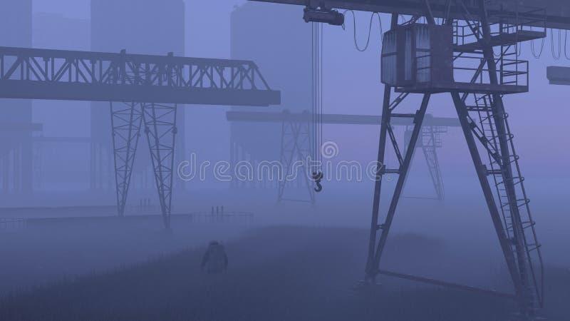 Эко-катастрофа стоковая фотография rf