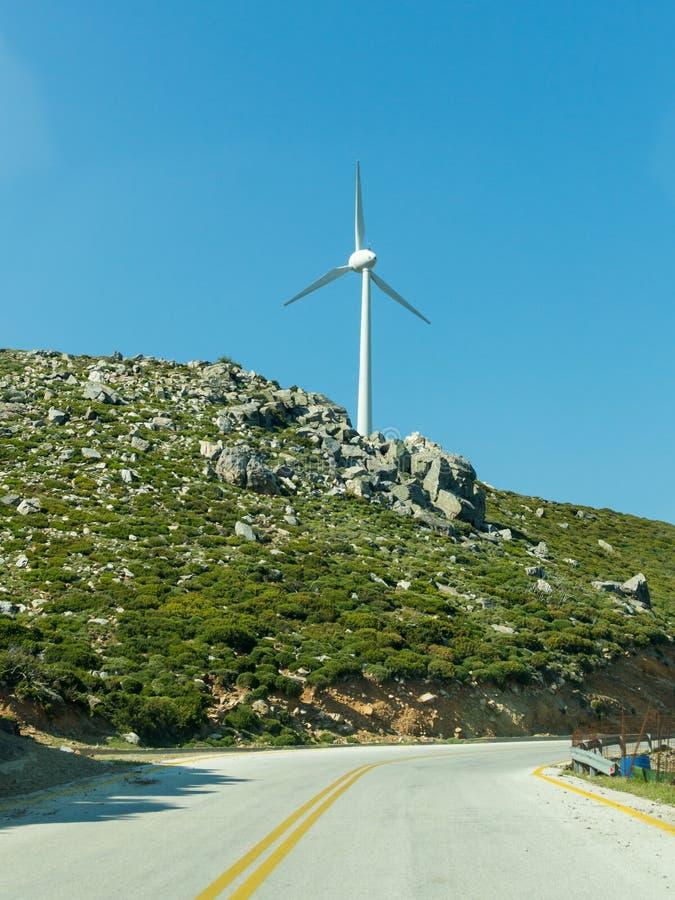 Экологически турбины энергии ветра поколения дружественной державы стоковая фотография rf