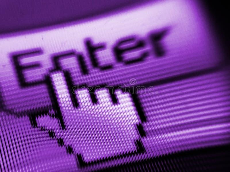 экран иконы стоковое изображение rf