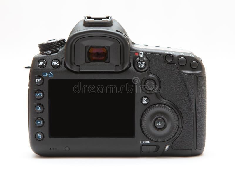 Экран дисплея цифровой фотокамера задний стоковая фотография rf