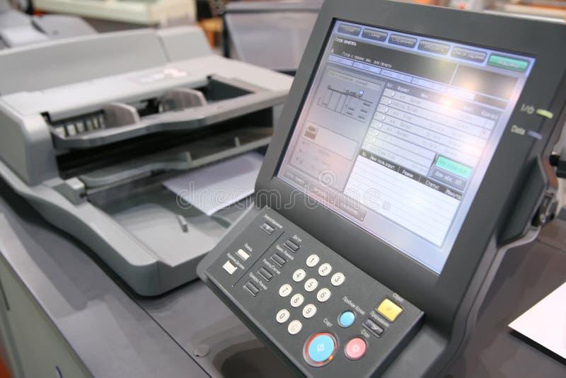 экран оборудования напечатанный стоковая фотография