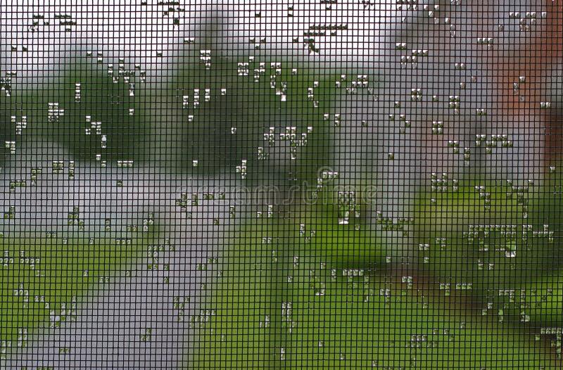 экран падений стоковое изображение rf
