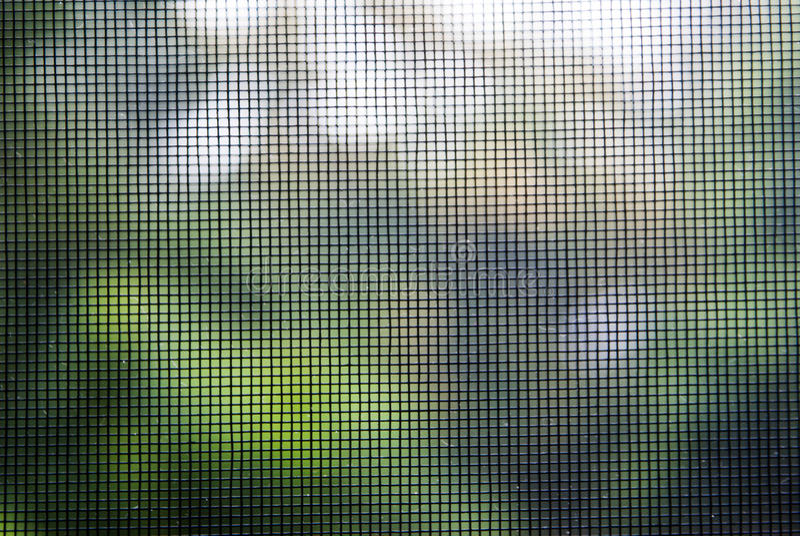 Экран провода москита стоковое изображение