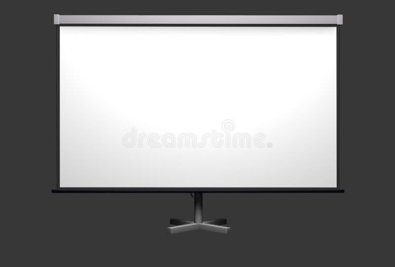экран репроектора стоковые фото
