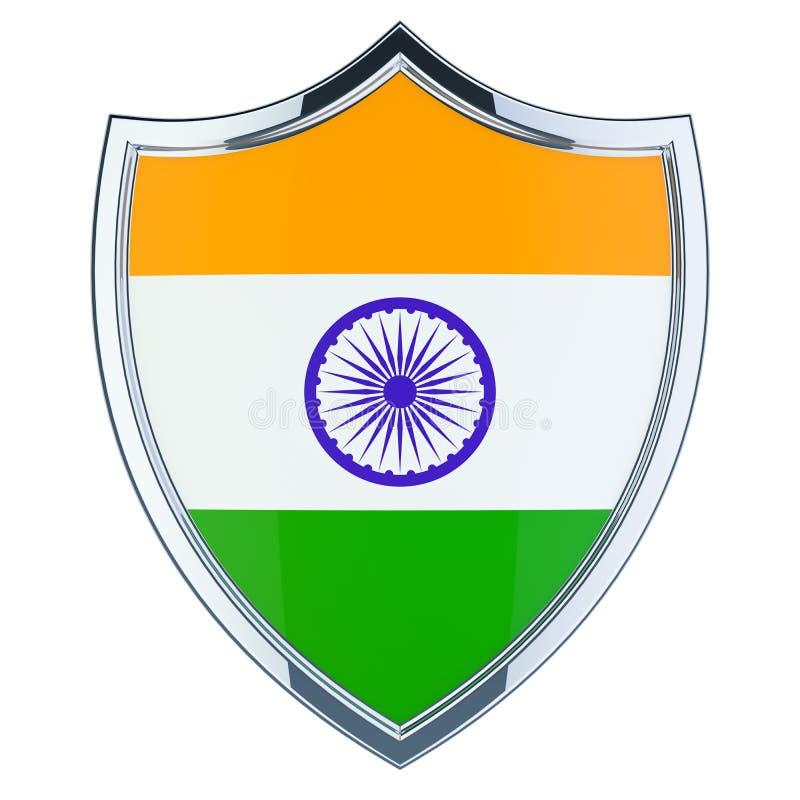 Экран с индийским флагом, переводом 3D бесплатная иллюстрация