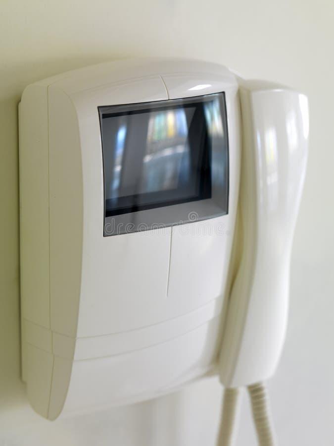 экран doorphone стоковые фотографии rf