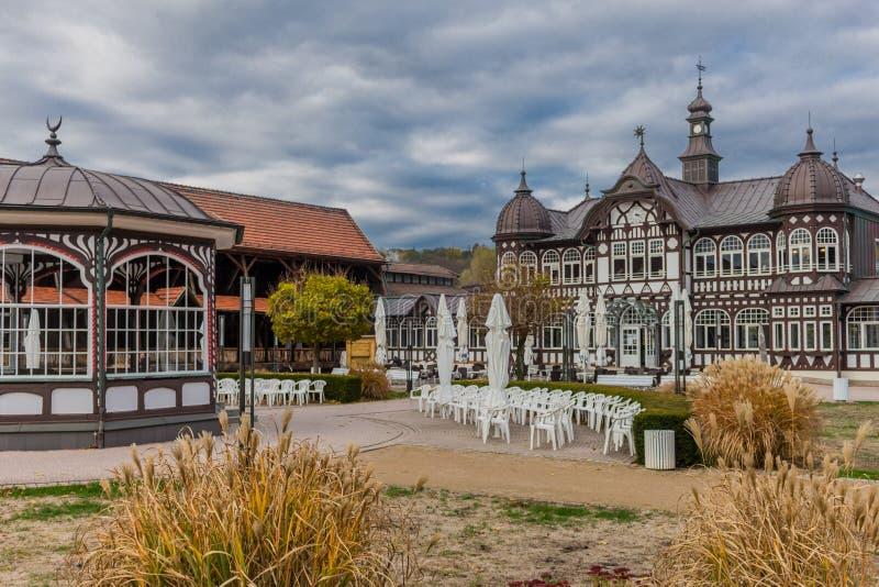 Экскурсионный тур через плохое Salzungen стоковые фотографии rf