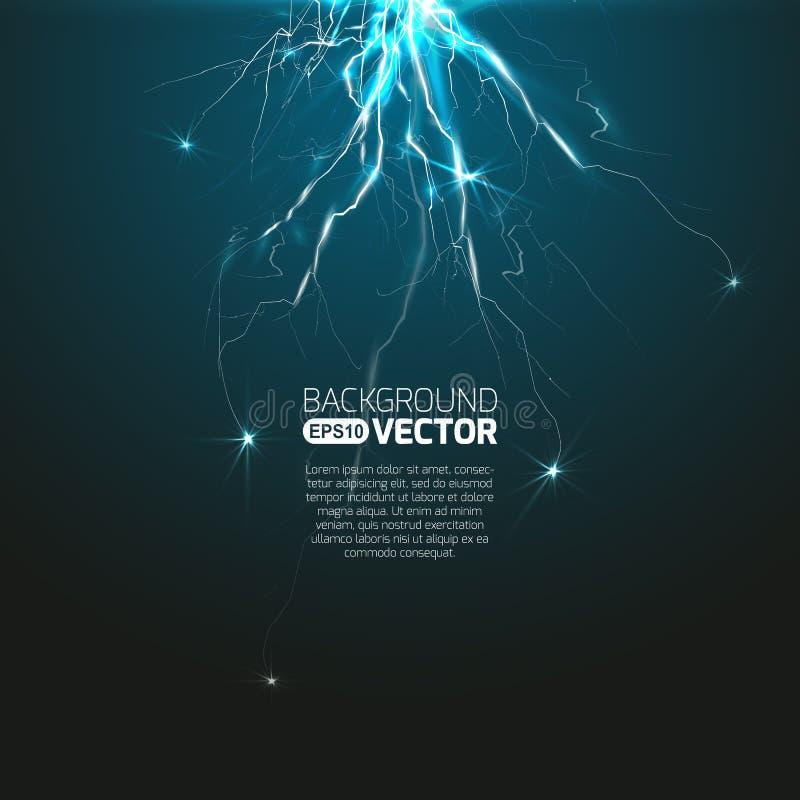 Эксперимент с разрядкой иллюстрация вектора