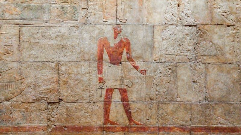 Экспедиция ферзя Hatshepsut, который нужно бить стоковая фотография rf