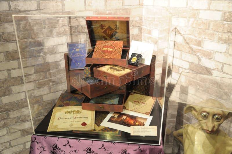 Экспонаты collectibles портера Гарри стоковое изображение rf