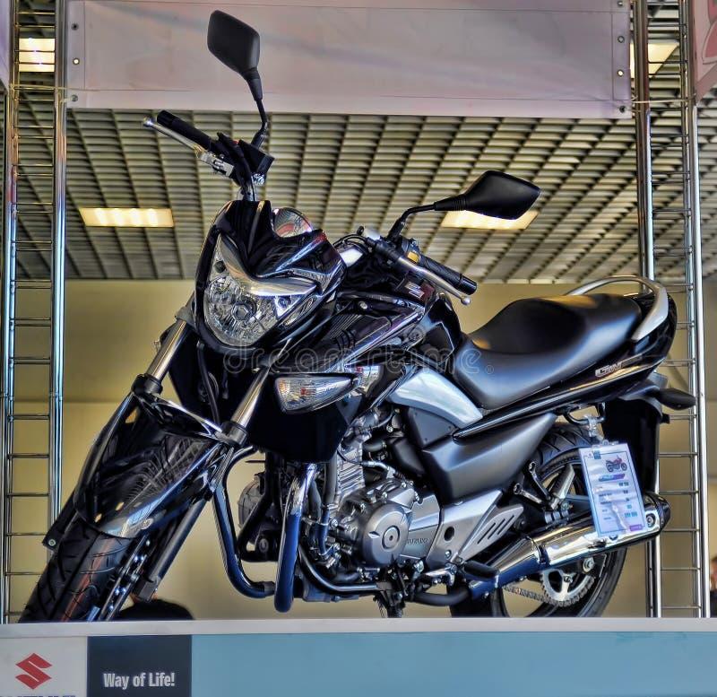 Экспо велосипеда Moto стоковая фотография rf