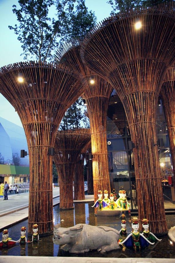 Экспо 2015 Милана стоковые изображения