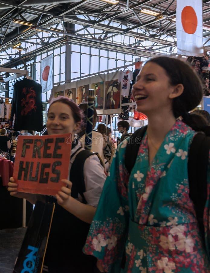 Экспо 2017 Парижа - Японии стоковые изображения rf