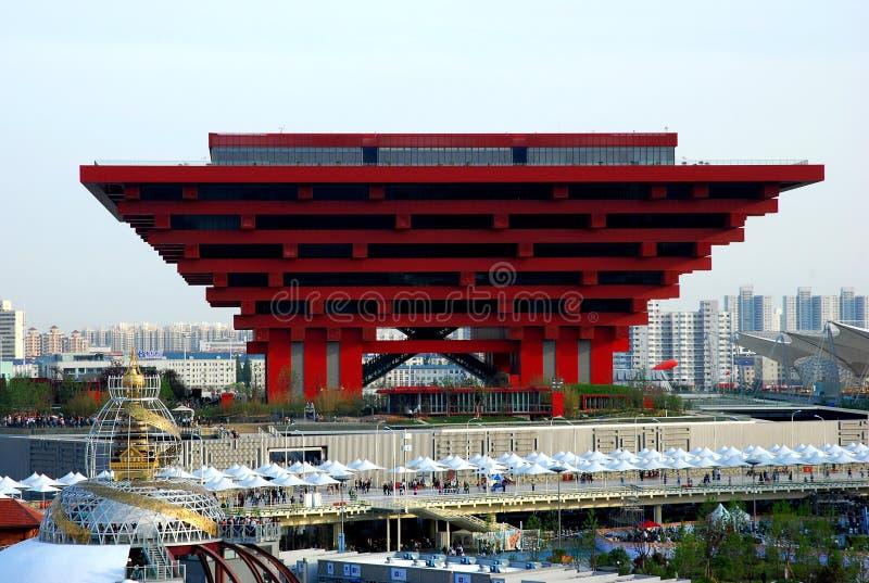 ЭКСПО Шанхая стоковое изображение