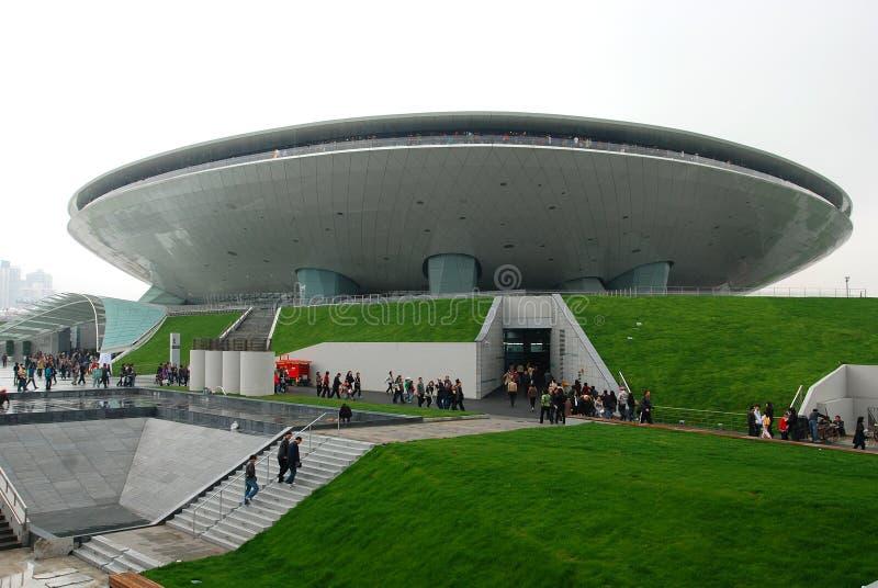 экспо 2010 shanghai стоковая фотография