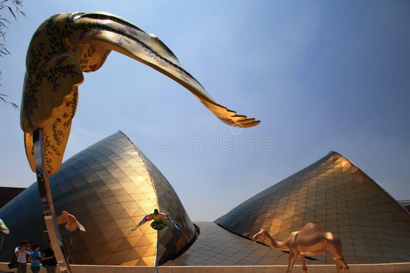 экспо 2010 shanghai стоковое изображение