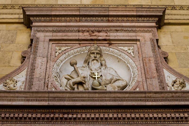 Экстерьер базилики St Stephen в Будапеште, Венгрии стоковое изображение rf