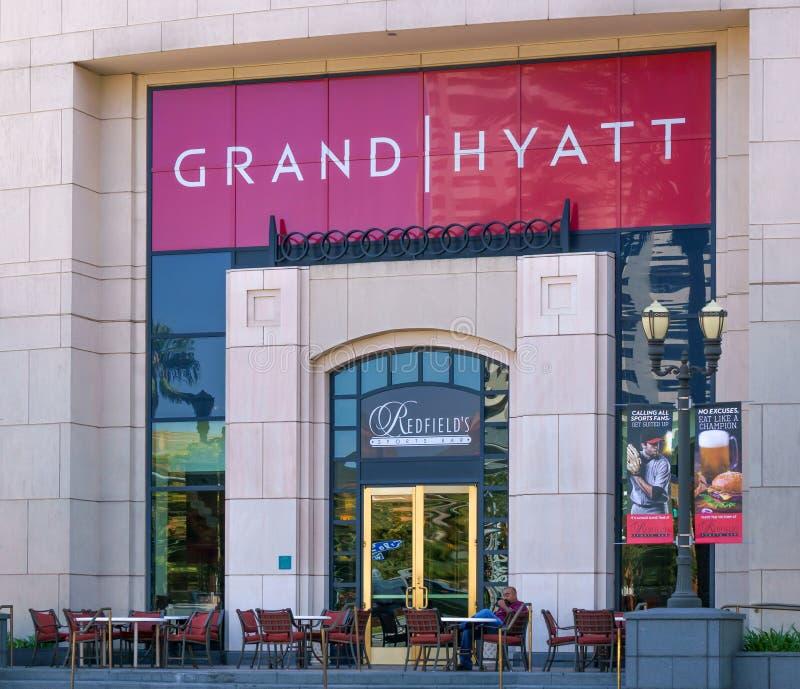Экстерьер Манчестера грандиозный Hyatt Сан-Диего стоковое фото rf