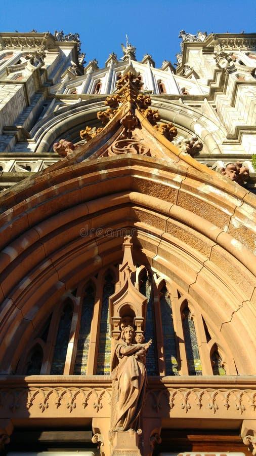 Экстерьер собора St Nicholas римско-католического, Киева стоковая фотография