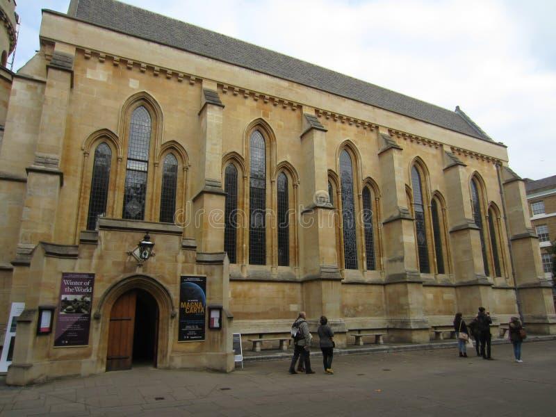 Экстерьер церков виска, Лондона, Англии стоковая фотография