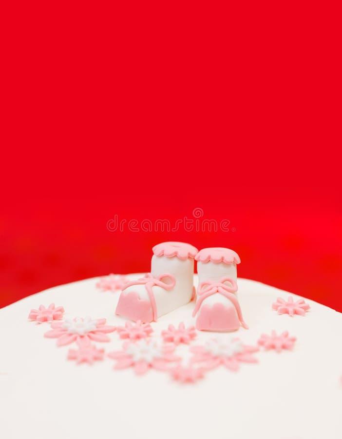 Экстракласс баптиста на белом торте стоковое изображение rf
