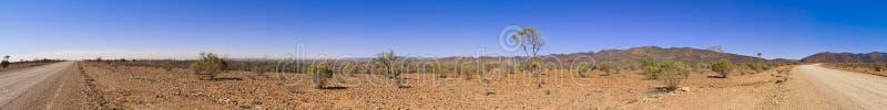 экстренная большая панорама захолустья стоковая фотография rf