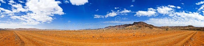 экстренная большая панорама захолустья стоковые изображения